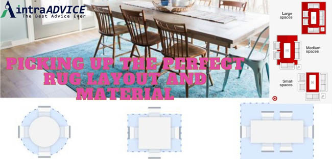 Picking Up the Perfect Rug Layout and Material
