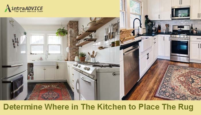 Determine Where in The Kitchen to Place The Rug
