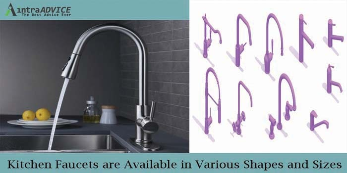 Kitchen Faucets are Available in Various Shapes and Sizes
