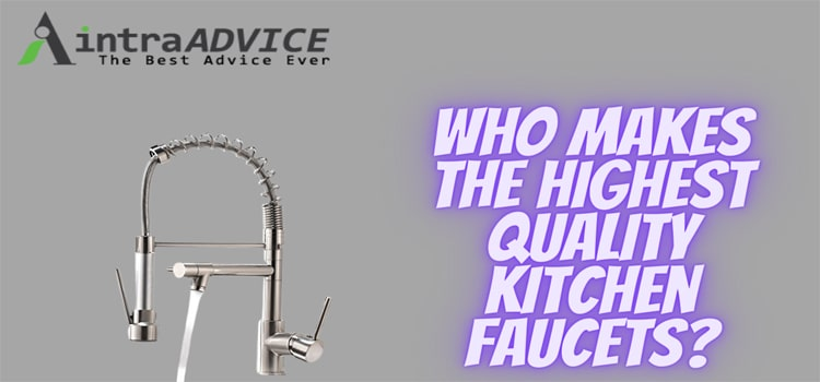Who makes the best touchless kitchen faucet