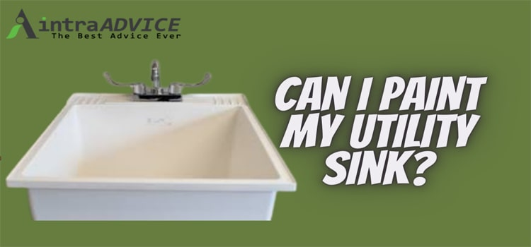 Can I paint my utility sink