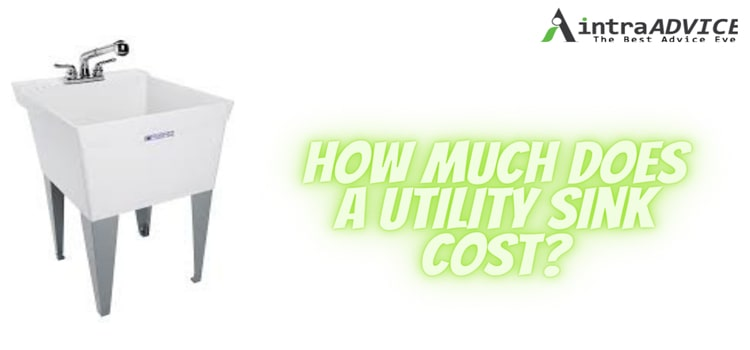 How much does a utility sink cost