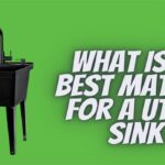 What is the best material for a utility sink